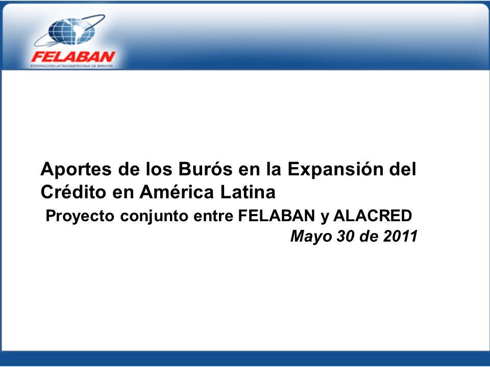 Aportes de los Burós en la Expansión del Crédito en América Latina