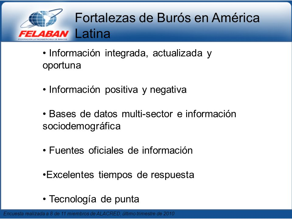 Fortalezas de Burós en América Latina