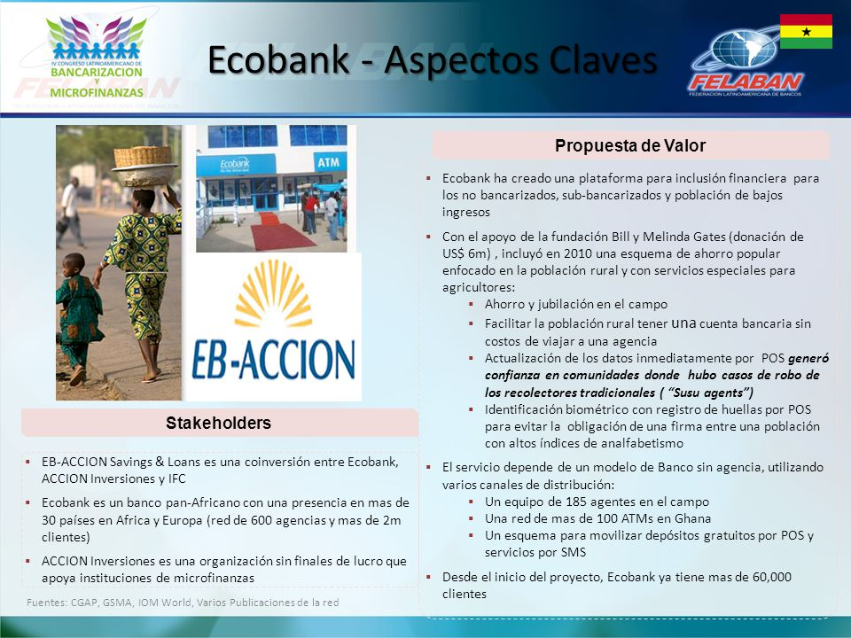 Ecobank - Aspectos Claves