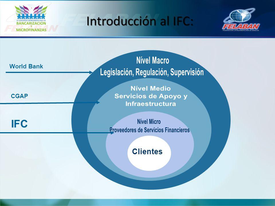 Introducción al IFC: Nível Macro Legislación, Regulación, Supervisión