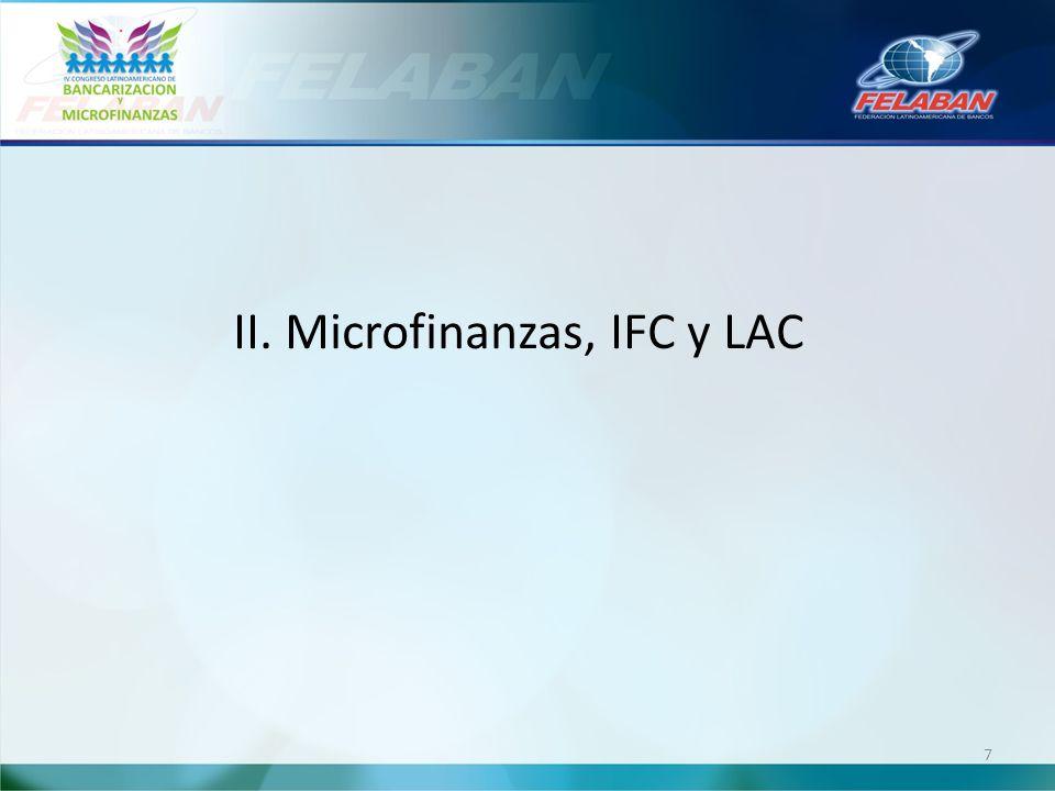 II. Microfinanzas, IFC y LAC