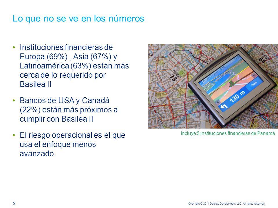 Lo cual no elimina las preocupaciones en materias de otros riesgos Survey 2010 Q3 - Deloitte