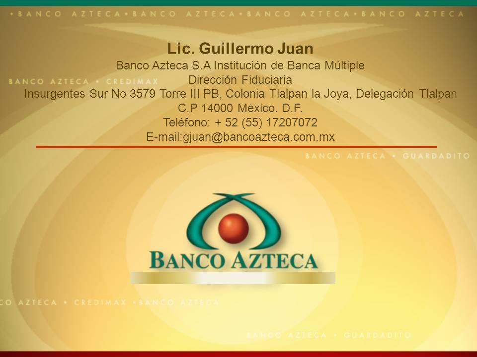Banco Azteca S.A Institución de Banca Múltiple