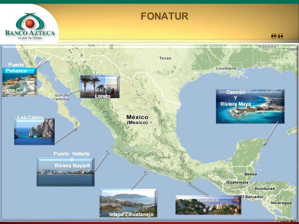 FONATUR Puerto Peñasco Cancún Y Loreto Riviera Maya Los Cabos