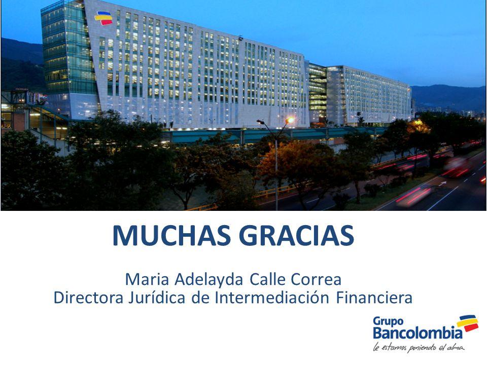 MUCHAS GRACIAS Maria Adelayda Calle Correa