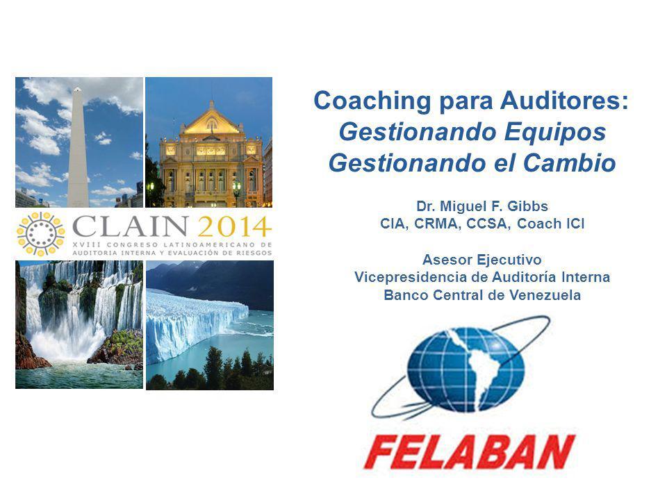 Coaching para Auditores: Gestionando Equipos Gestionando el Cambio
