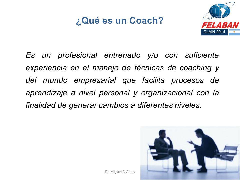¿Qué es un Coach