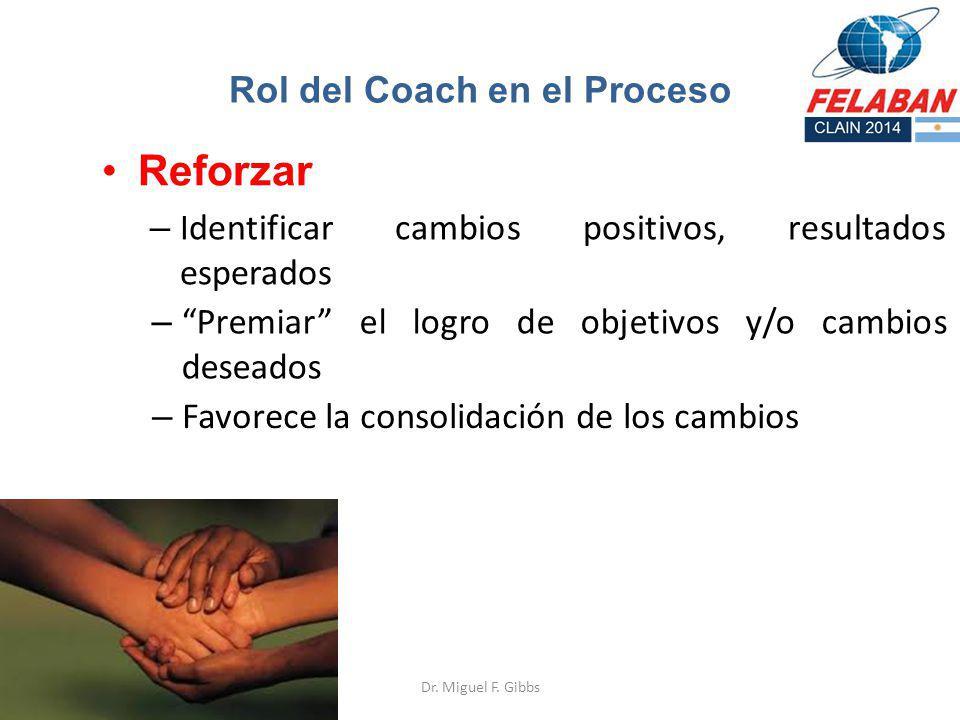 Rol del Coach en el Proceso