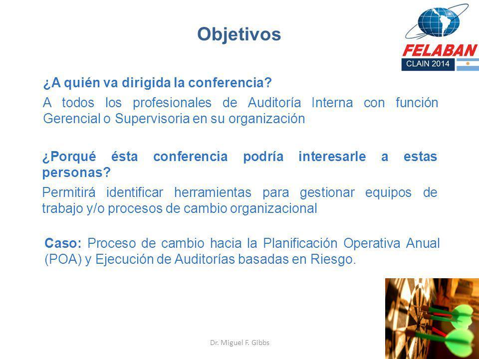 Objetivos ¿A quién va dirigida la conferencia