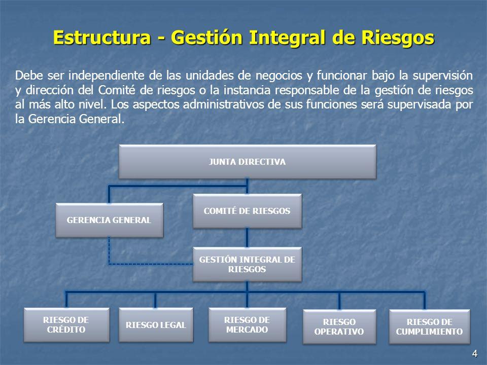 Estructura - Gestión Integral de Riesgos