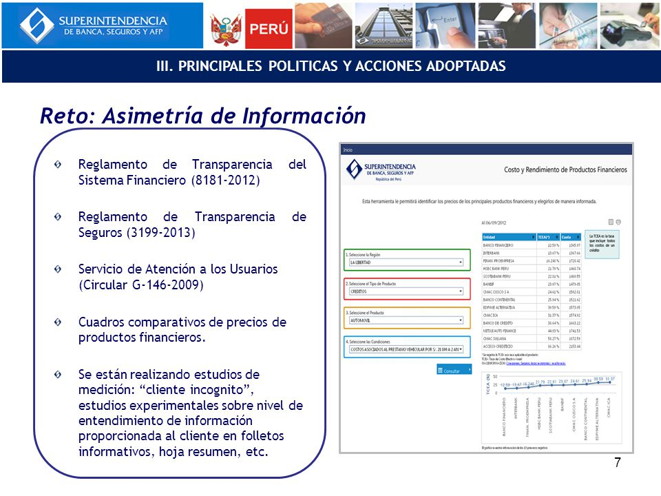 Reto: Asimetría de Información