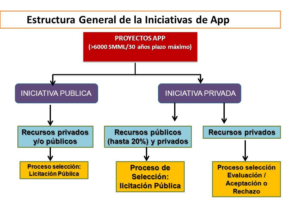 Estructura General de la Iniciativas de App