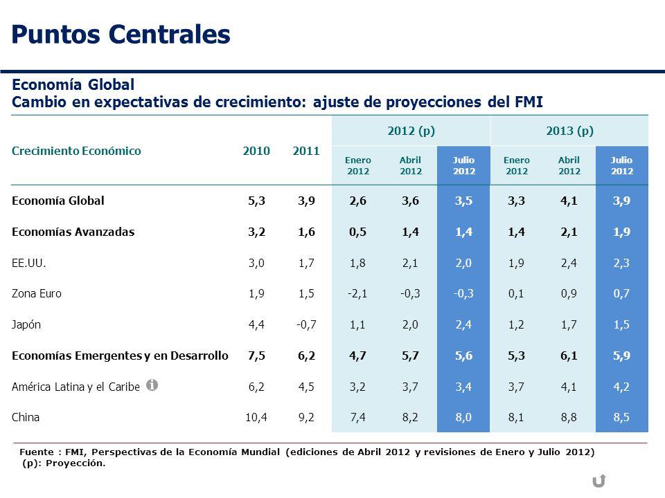 Puntos Centrales Economía Global