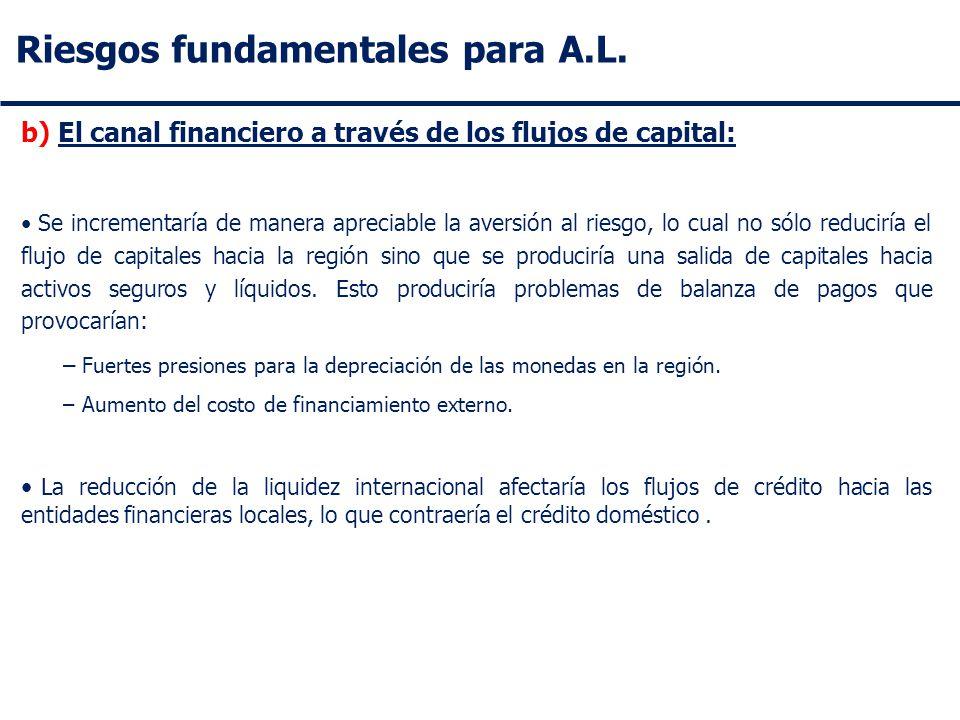 Riesgos fundamentales para A.L.