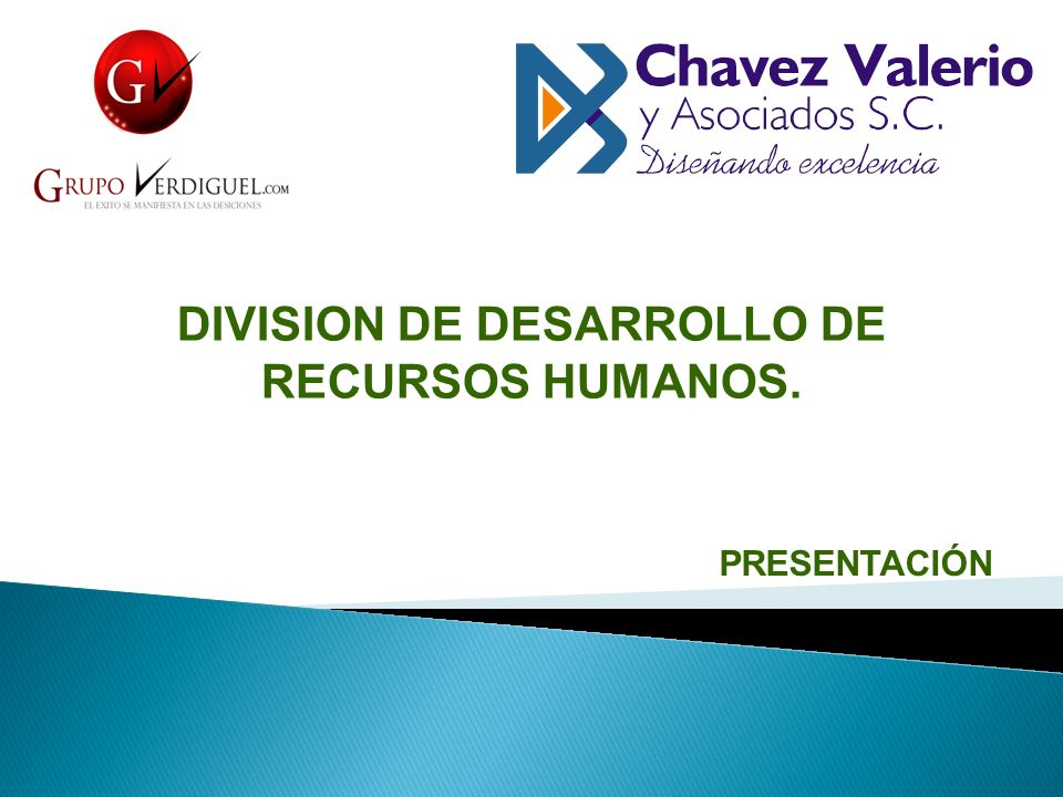DIVISION DE DESARROLLO DE RECURSOS HUMANOS.