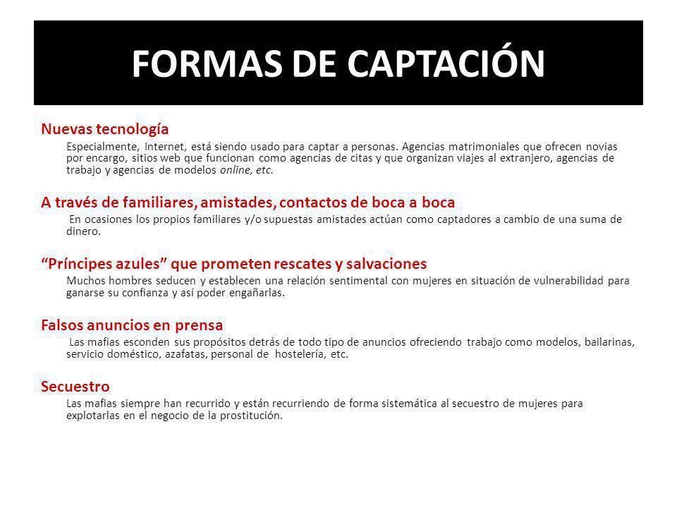 FORMAS DE CAPTACIÓN Nuevas tecnología