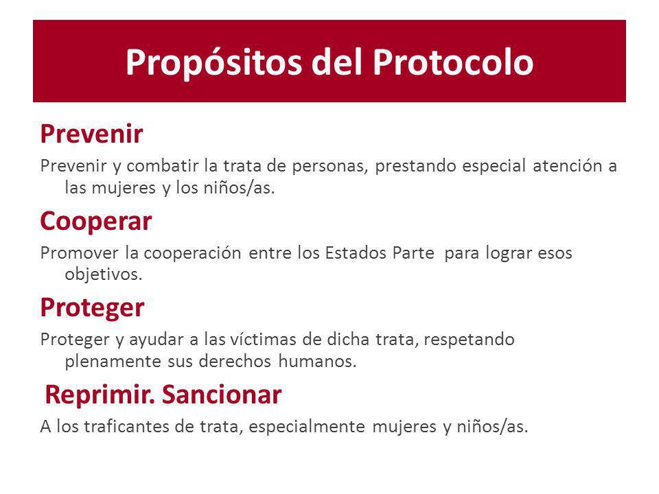 Propósitos del Protocolo