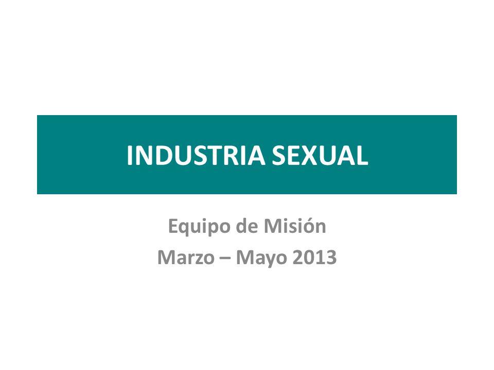 Equipo de Misión Marzo – Mayo 2013