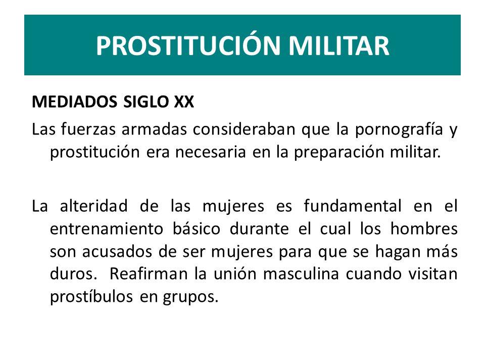 PROSTITUCIÓN MILITAR