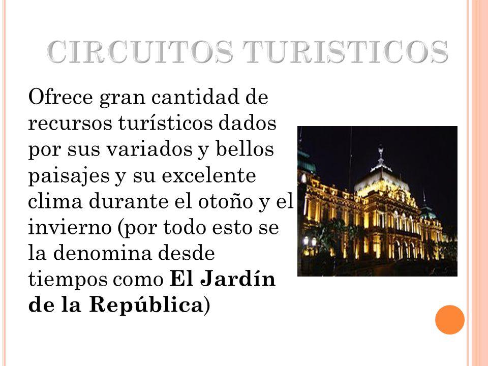 CIRCUITOS TURISTICOS