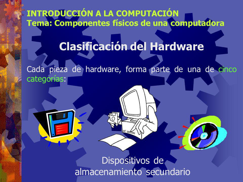 Clasificación del Hardware