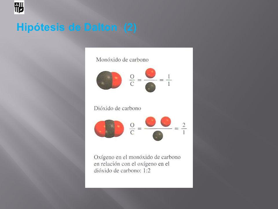 Hipótesis de Dalton (2) 8