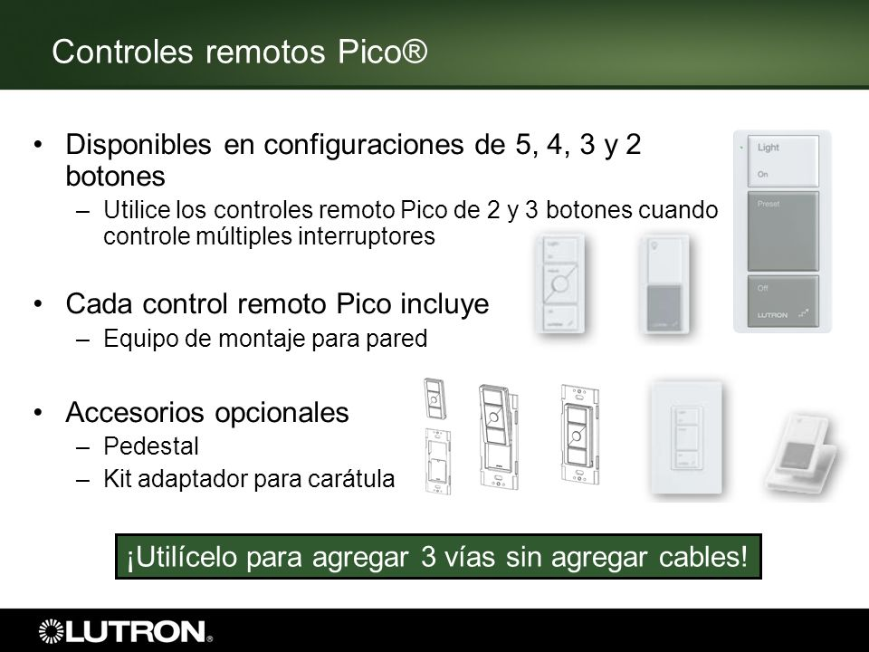 Controles remotos Pico®