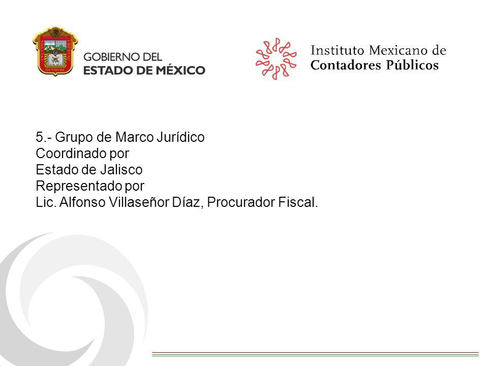 5.- Grupo de Marco Jurídico