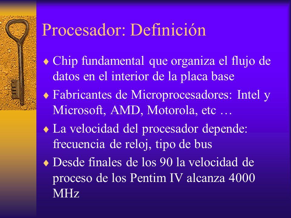 Procesador: Definición