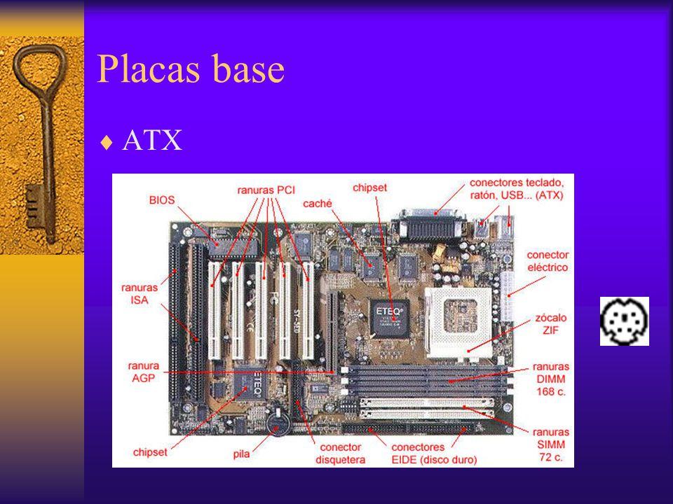 Placas base ATX.