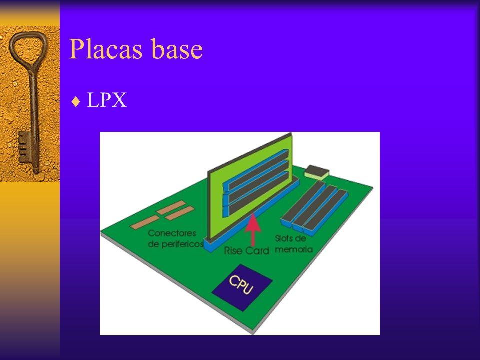 Placas base LPX.