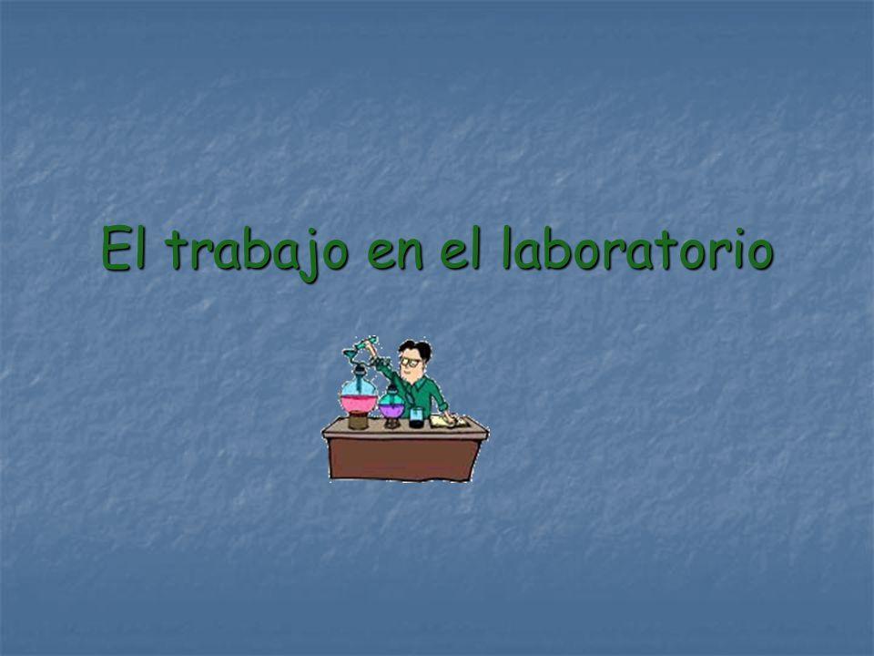 El trabajo en el laboratorio