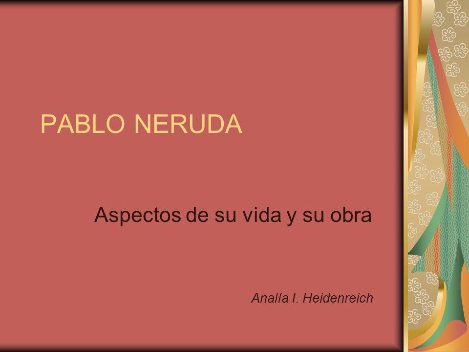 Aspectos de su vida y su obra Analía I. Heidenreich