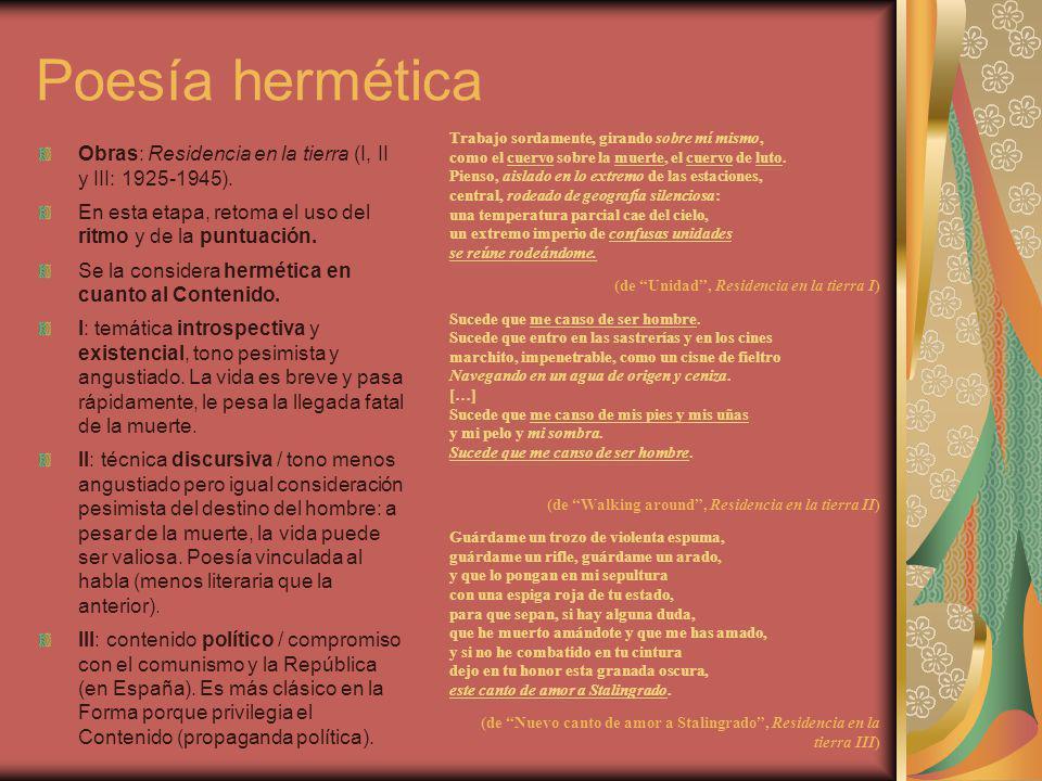 Poesía hermética
