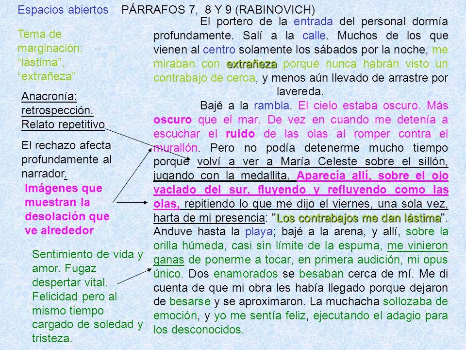 Espacios abiertos PÁRRAFOS 7, 8 Y 9 (RABINOVICH)