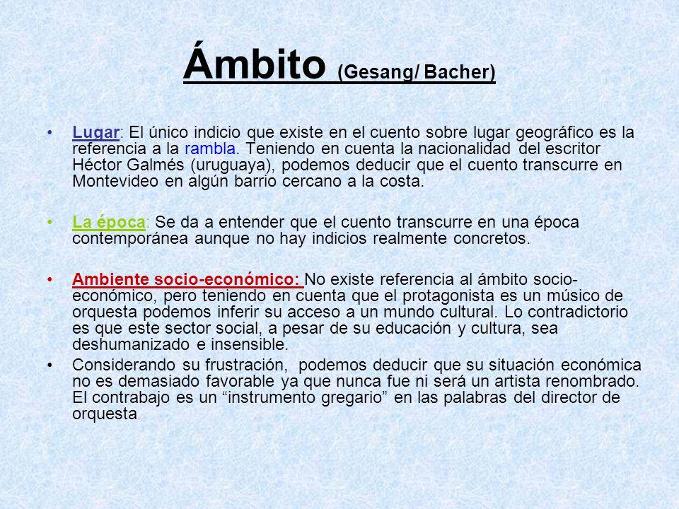 Ámbito (Gesang/ Bacher)