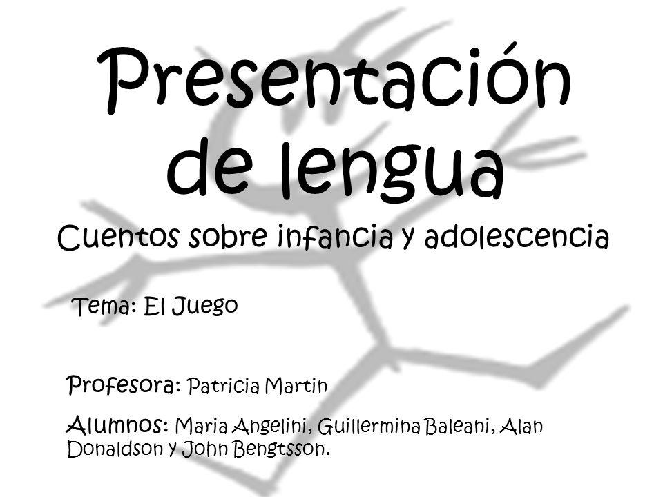Presentación de lengua