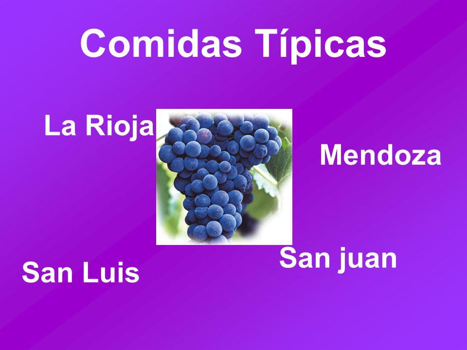 Comidas Típicas La Rioja Mendoza San juan San Luis