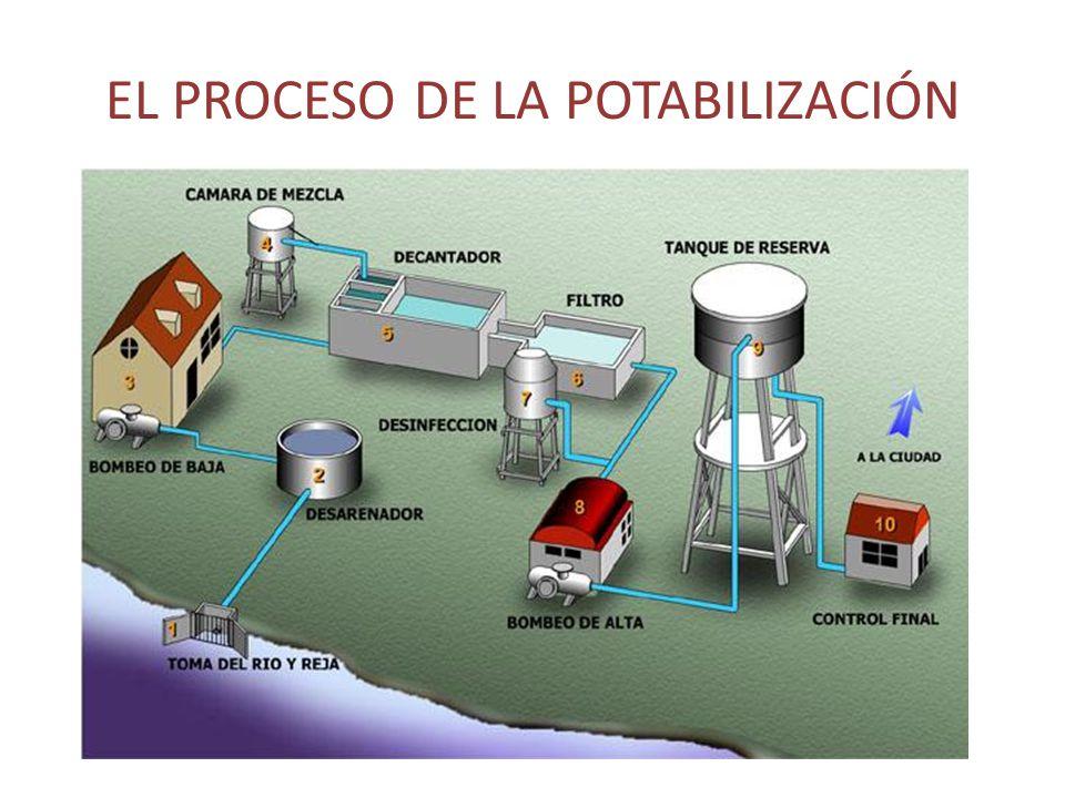 El proceso de la potabilización