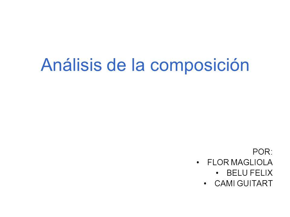 Análisis de la composición