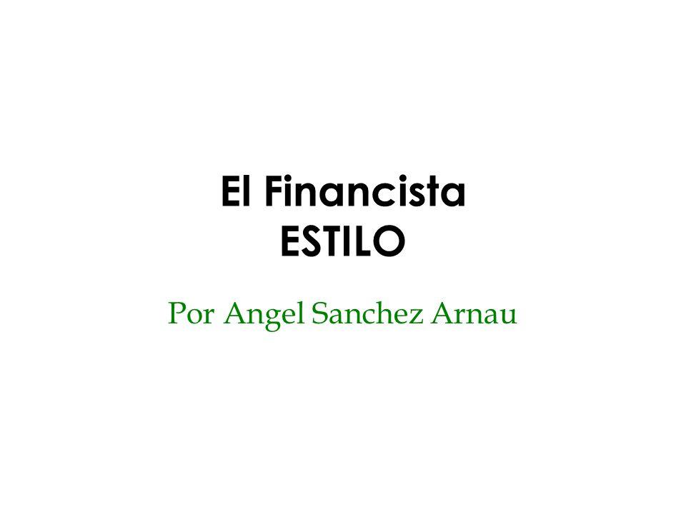 Por Angel Sanchez Arnau