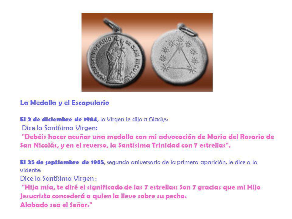 La Medalla y el Escapulario