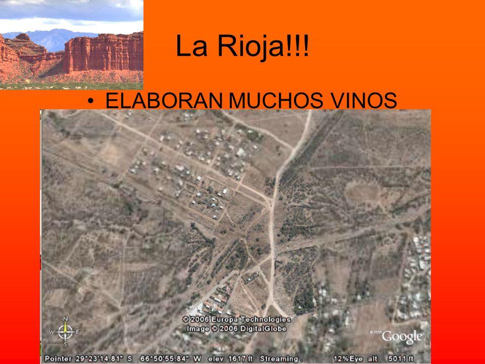 La Rioja!!! ELABORAN MUCHOS VINOS