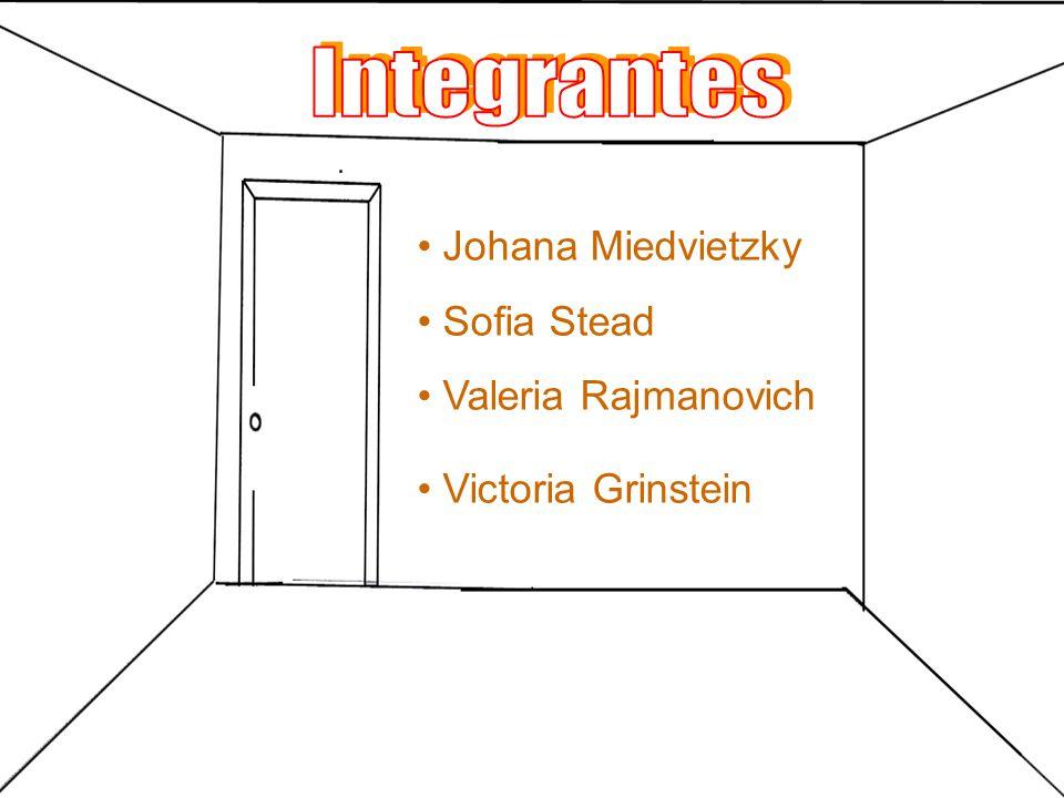 Integrantes Johana Miedvietzky Sofia Stead Valeria Rajmanovich