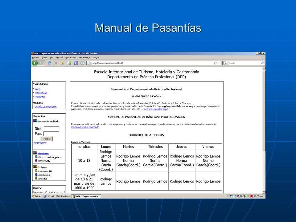 Manual de Pasantías