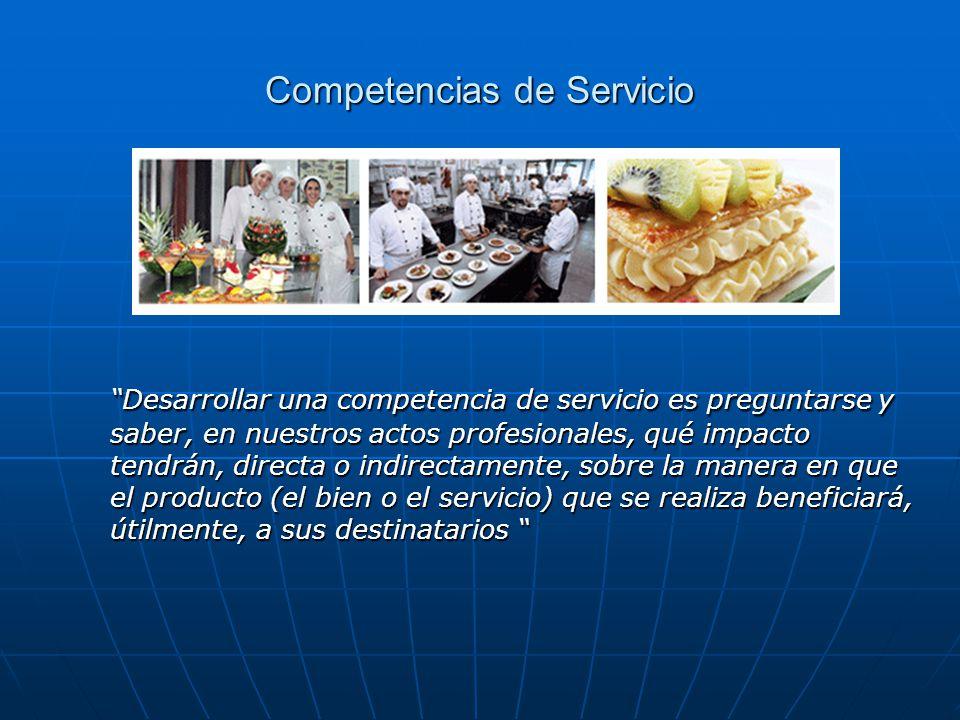 Competencias de Servicio