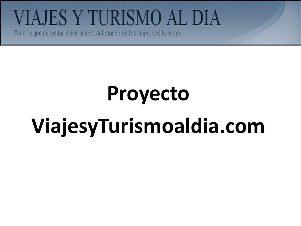 Proyecto ViajesyTurismoaldia.com