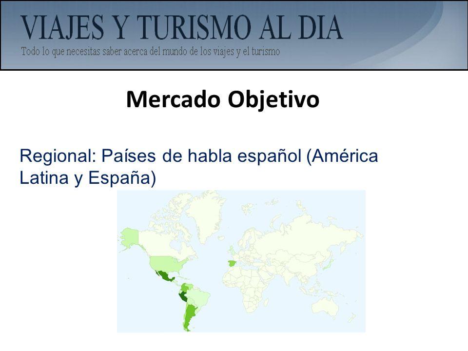 Mercado Objetivo Regional: Países de habla español (América Latina y España)