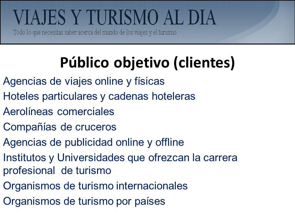 Público objetivo (clientes)