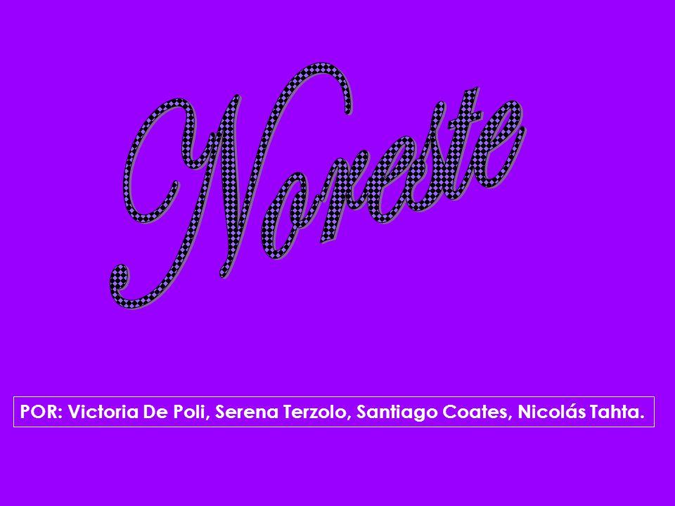 Noreste POR: Victoria De Poli, Serena Terzolo, Santiago Coates, Nicolás Tahta.